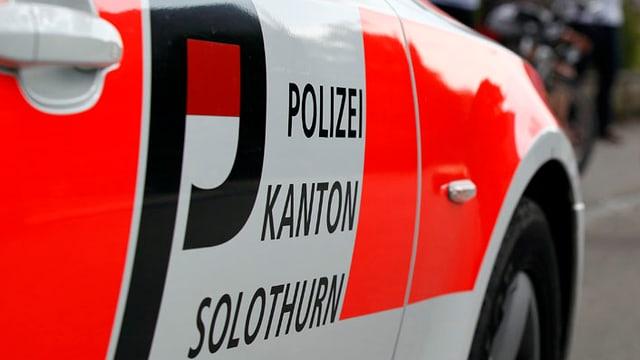 Fahrzeug der Kantonspolizei