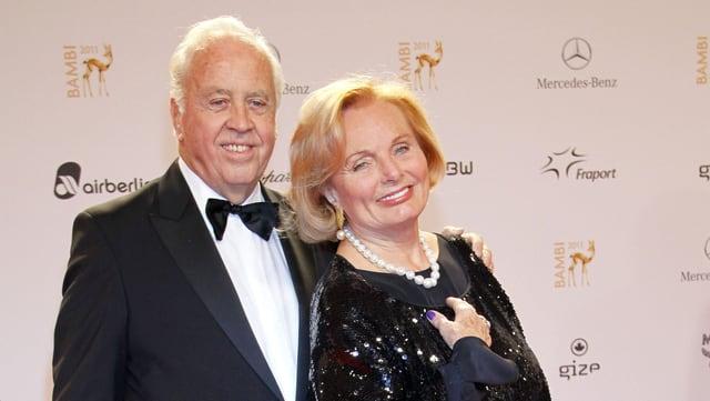 Wolfgang Rademann und Ruth Maria Kubitschek