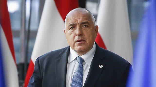 Premier Boyko Borissov am EU-Gipfel am 22. März 2019 in Brüssel.