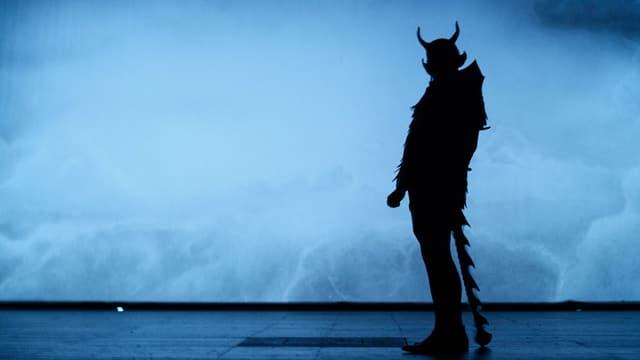 Der Teufel im Gegenlicht gespielt von Christian Baumbach.