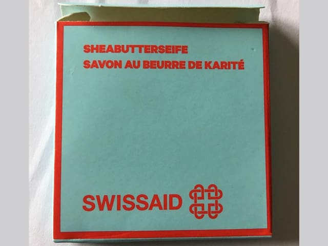 Seife in Swissaid-Verpackung