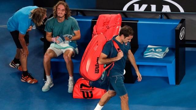 Federer bandunà il stadion
