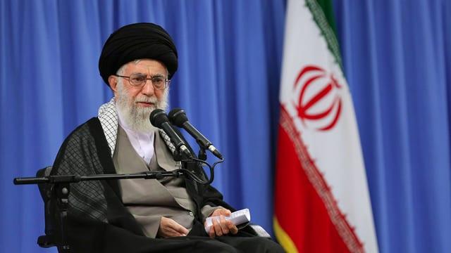 Il manader spiritual e politic il pli aut dal Iran Ayatollah Ali Chamenei.