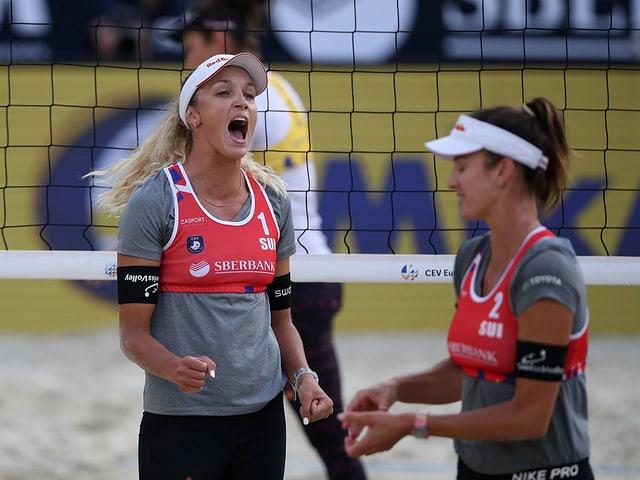4-Sterne-Turnier in Moskau - Heidrich/Vergé-Dépré stehen im Halbfinal