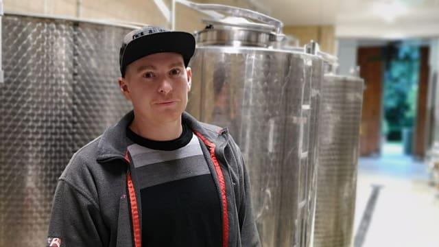 Renzo Hendry, viticultur.