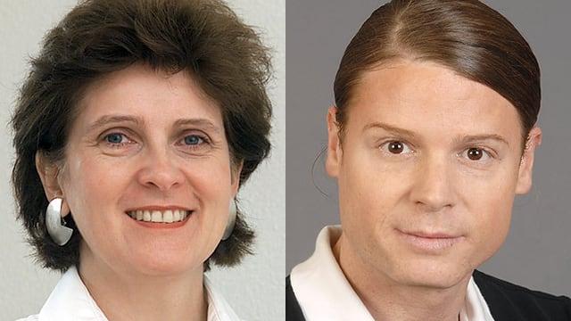 Prof. Claudia Meuli-Simmen und Dr. David Eyer