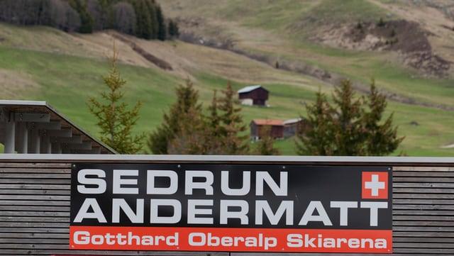 Il logo da Sedrun-Andermatt.