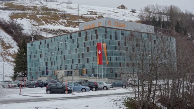 Il hotel Cube a Savognin