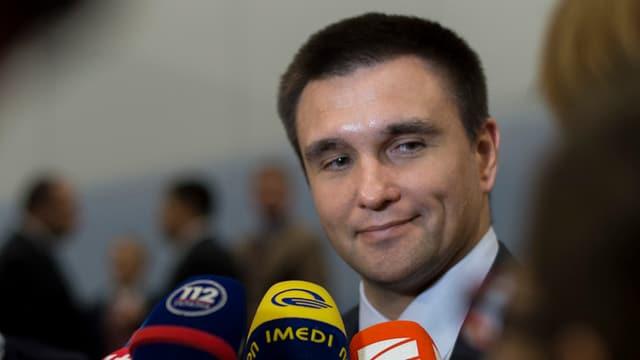 Ukraines Aussenminister Klimkin