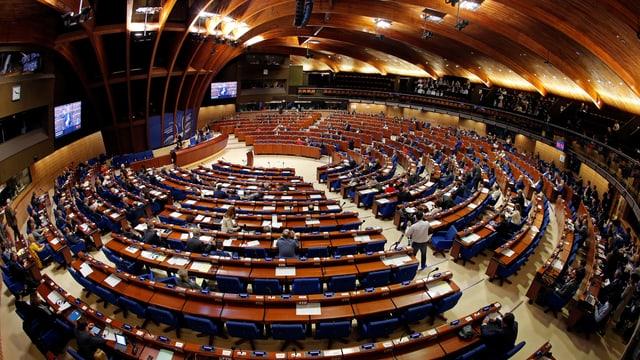 Parlamentarische Versammlung des Europarats.