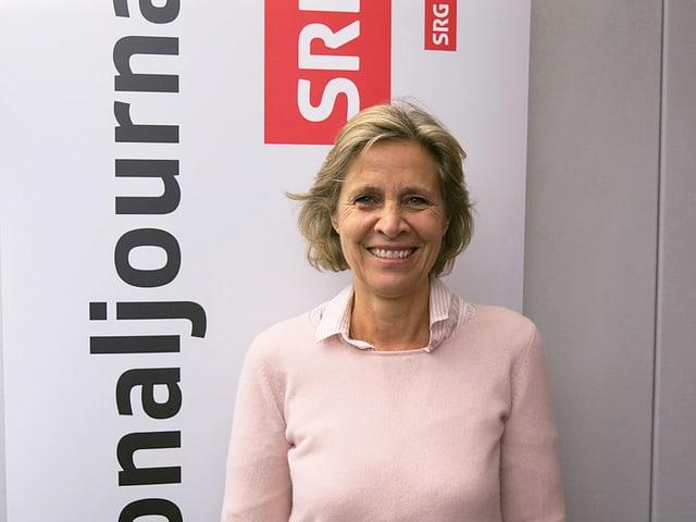 Patricia von Falkenstein, Präsidentin der Basler LDP.