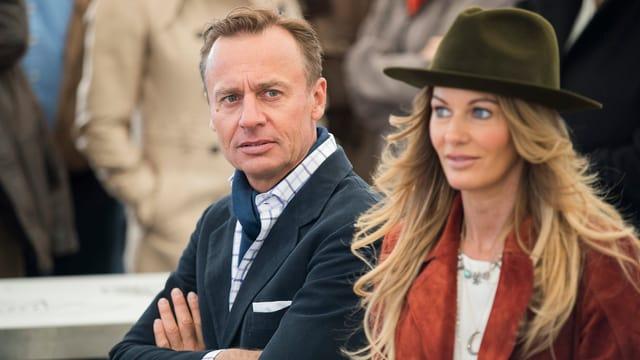 Ernesto Bertarelli und Ehefrau Kirsty.