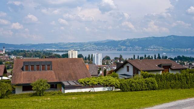 Dorfteil von Hünenberg.