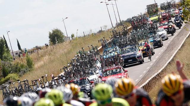 Caravana dal Tour de France.