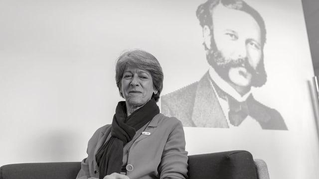 Annemarie Huber-Hotz, l'anteriura chanceliera federala è morta surprendentamain.