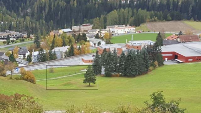 Il quartier da Rachögna a Scuol