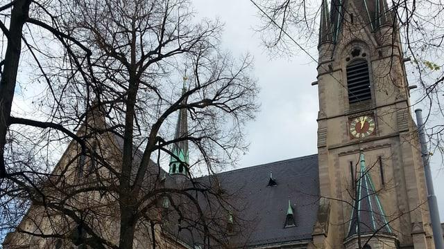 Die Matthäuskirche von vorne