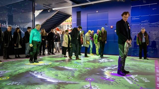 Ausstellungsfläche Skyguide