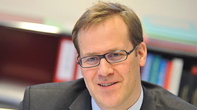 Porträt von Finanzdirektor Kaspar Michel