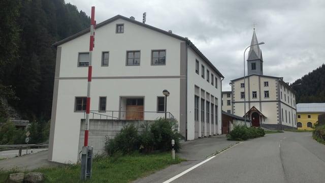 Stabiliment da las Ovras Electricas d'Engiadina a Martina.
