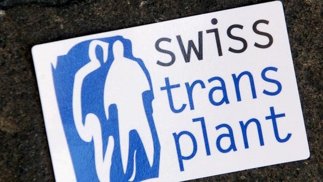 Il logo da Swisstransplant.