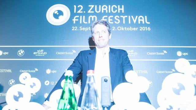 Der britische Schauspieler Hugh Grant am diesjährigen Zürich Film Festival.