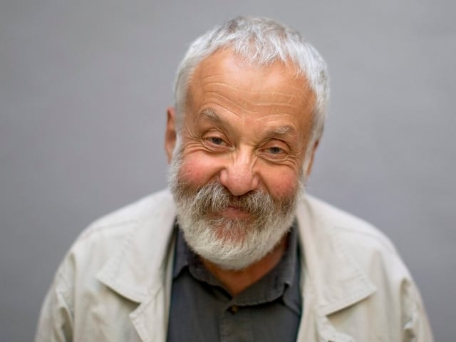 Portrait Mike Leigh