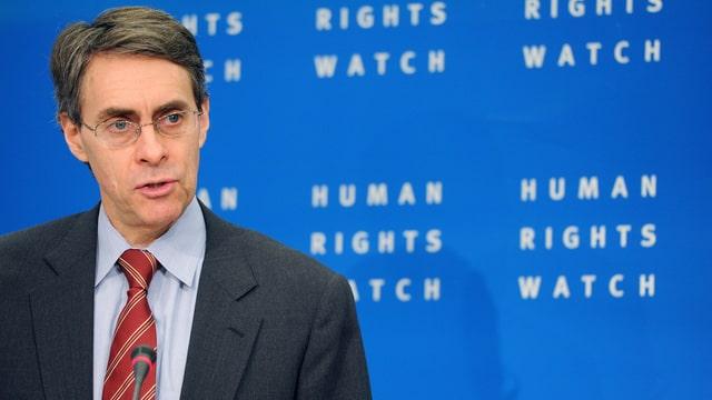 Der langjährige Direktor der Menschenrechtsorganisation Human Rights Watch, Kenneth Roth