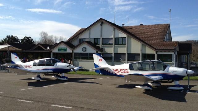 Flugbetrieb Birrfeld