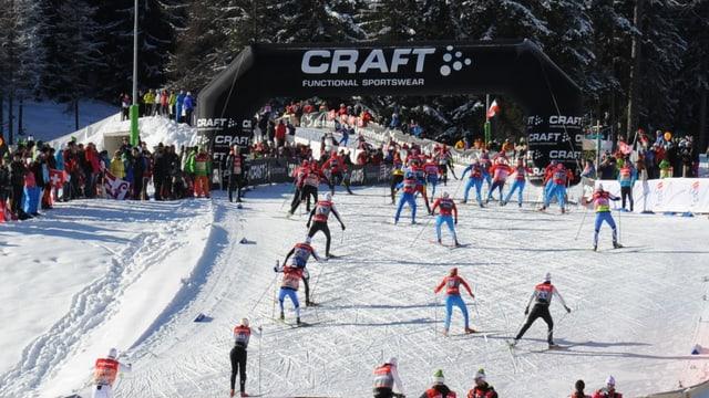 La seria da cursas da prestige cumenza da Bumaun en l'arena da biatlon a Lantsch cun in sprint da skating.