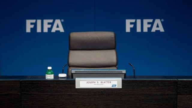 Sutga dal president da la FIFA.