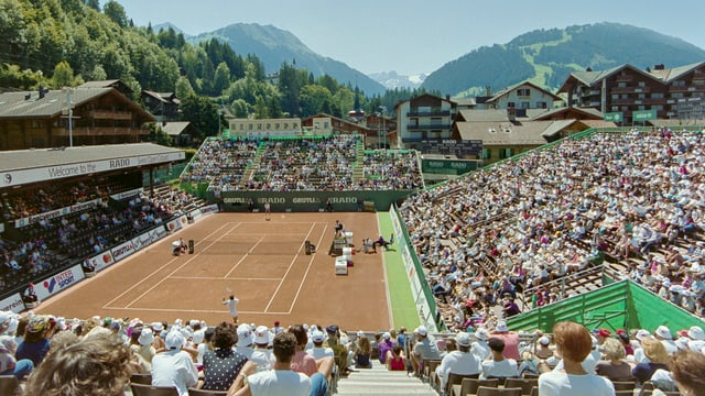 Centre Court Gstaad Swiss Open im Jahr 1993