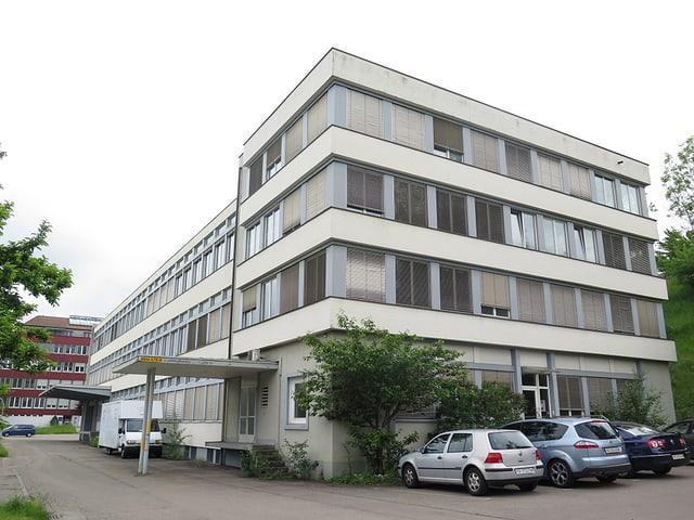 Altes Fabrikgebäude an der Haggenstrasse in St. Gallen.