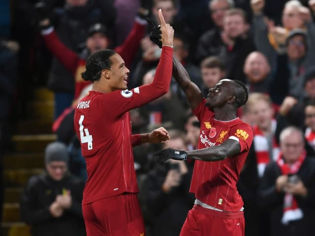 Liverpool mit Virgil van Dijk und Sadio Mané.