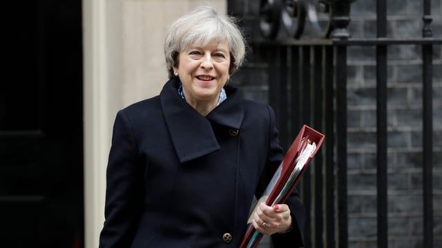 La primministra Theresa May