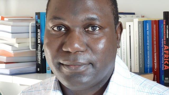 Porträt von Adama Ousmanou