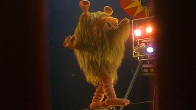 Mumbro im Zirkus.