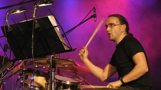 Musicist Lucas Niggli