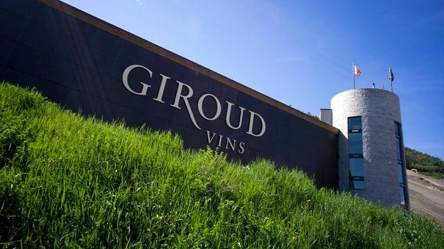 Das Gebäude von «Giroud Vins» von aussen.