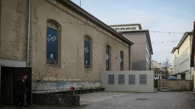Alte Reithalle in Aarau - Das Projekt