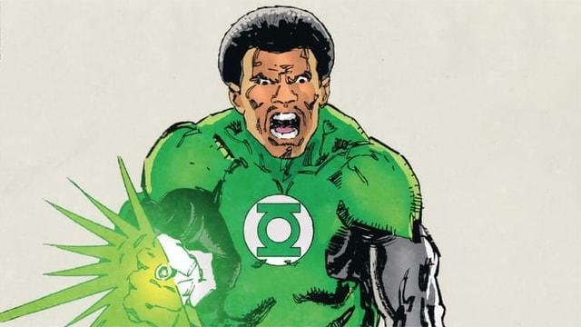 Green Lantern rettet Green Lantern