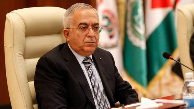 Der palästinensische Regierungschef Salam Fajad.