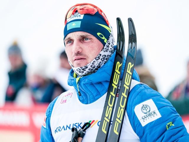 Der überführte Kasache Alexej Poltoranin.