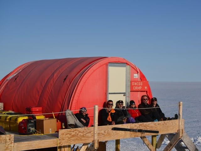 Swiss Camp auf Grönland