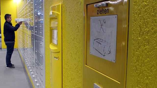 Postfach-Anlage