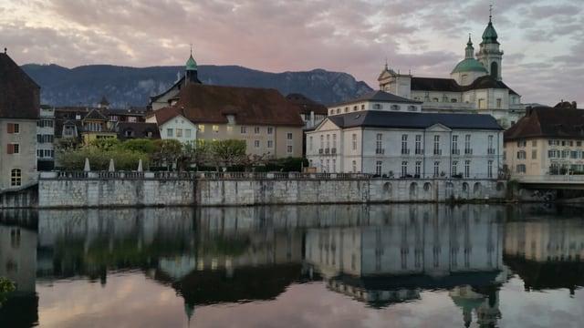 Kathedrale mit Altstadt.