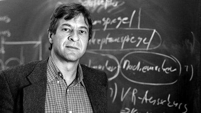 Gern gesehener Gast in allen Medien: Soziologe Kurt Imhof.