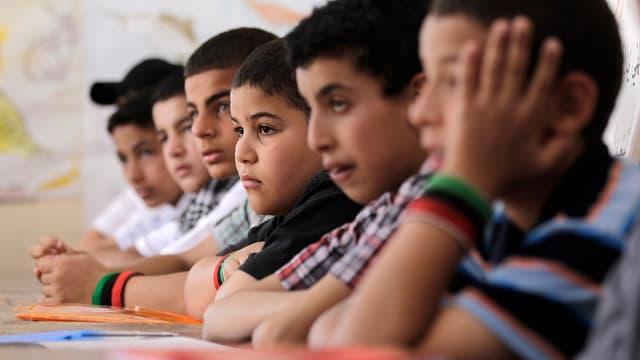 Schüler in Libyen