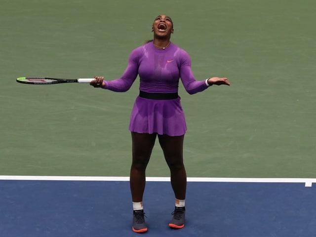 Diese Frage stellt sich bei Serena Williams.