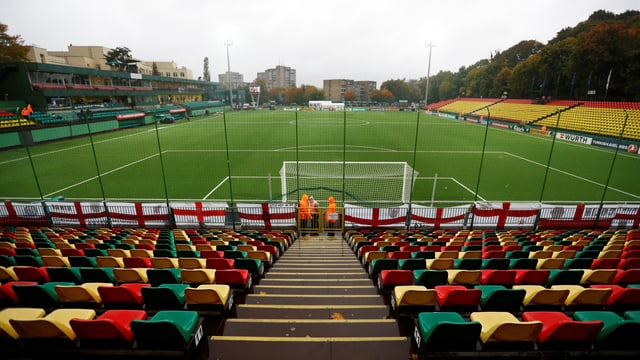 Das LFF-Stadion in Vilnius.